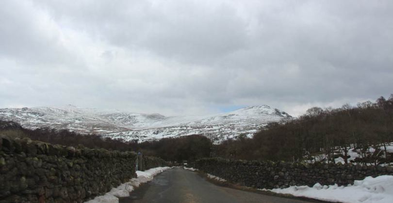 Road south of Grasmere