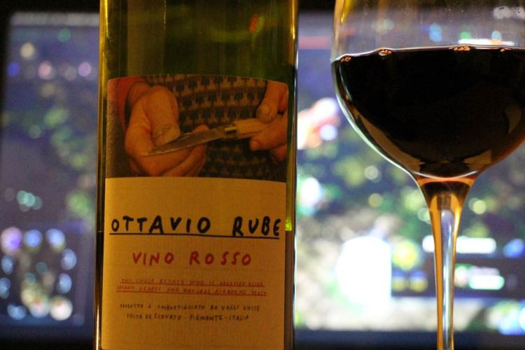 2010 Ottavio Rube Rosso from the Valli Unite cooperative