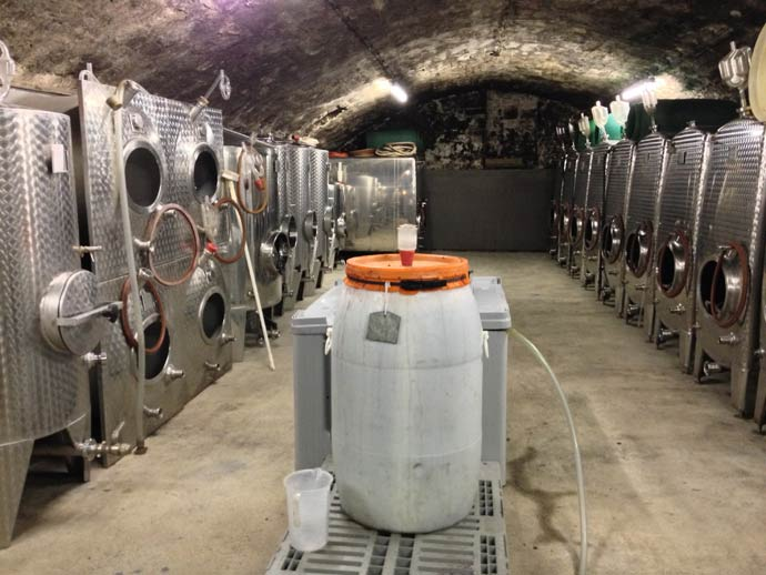 One of our cellars