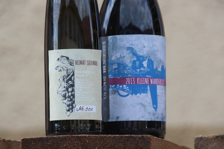 our first natural wines