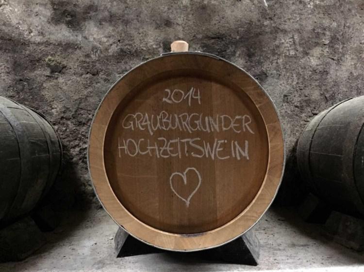 Our wedding wine
