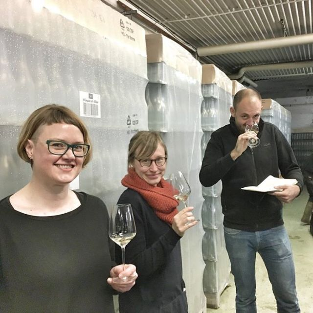 The day before bottling the next generation Fledermaus we hadhellip