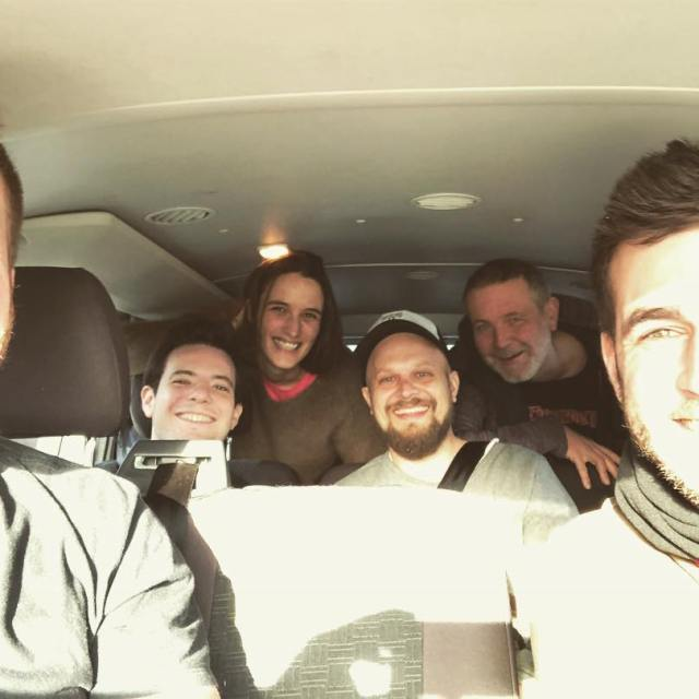 On the road with these legends ladivebouteille2018
