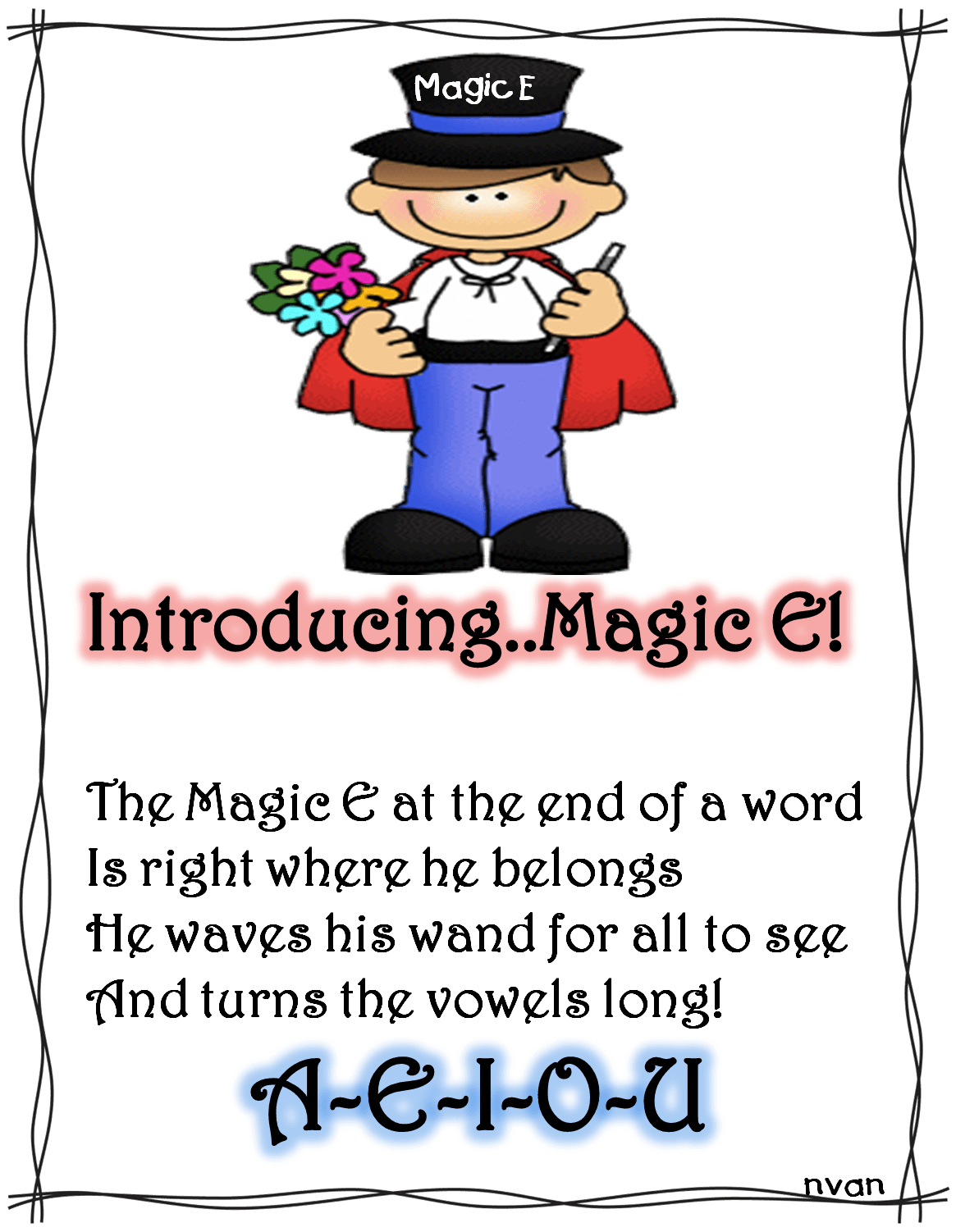 The Magic E