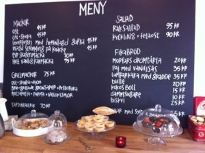 Cafe Skeppshandel - Small Selection, But GOOD Selection