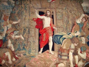 Stepping Out... Christ on the 'Miracle' Tapestry