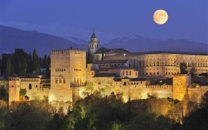The Alhambra at Night...