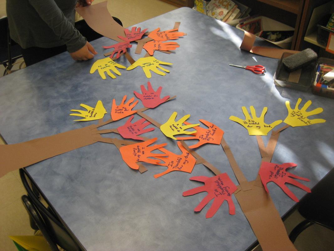 The 2nd Grade Spot Thanksgiving Craft