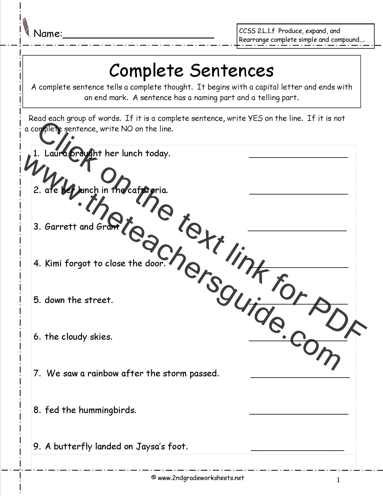 New 575 First Grade Question Worksheets