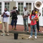 New Orleans Second Line Street Performers