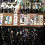 Vendors Display in New Orleans Art Plaza