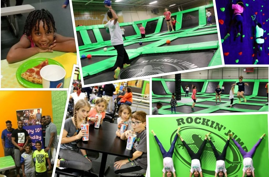 Places To Have A Birthday Party Near Me Book Rockin Jump Today
