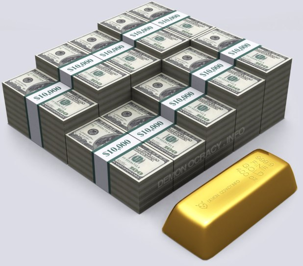 400 oz gold bar