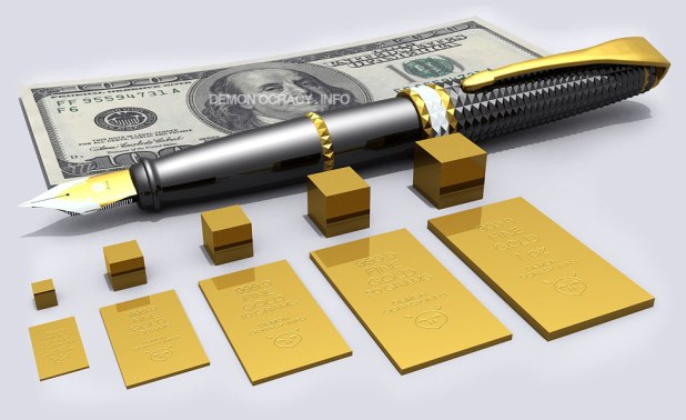 Gold bullion bars in lower denominations