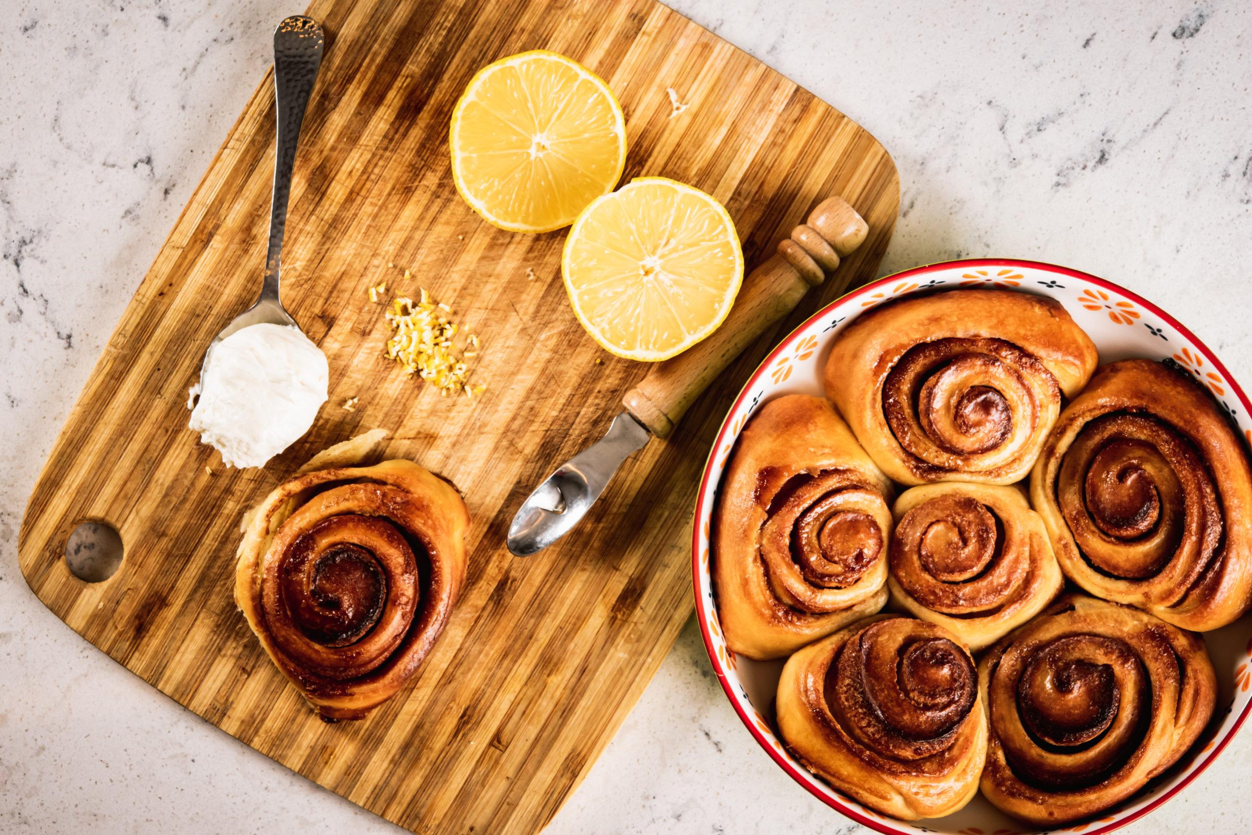 Oori Bake Shop Cinnamon Rolls scaled