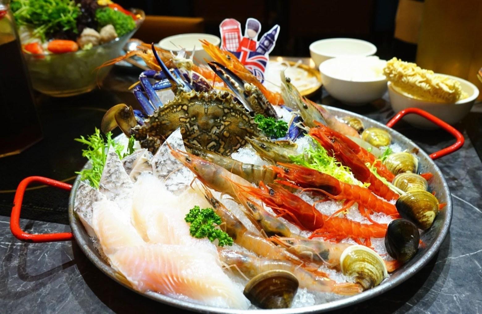 八海食潮  藍蟹拼盤