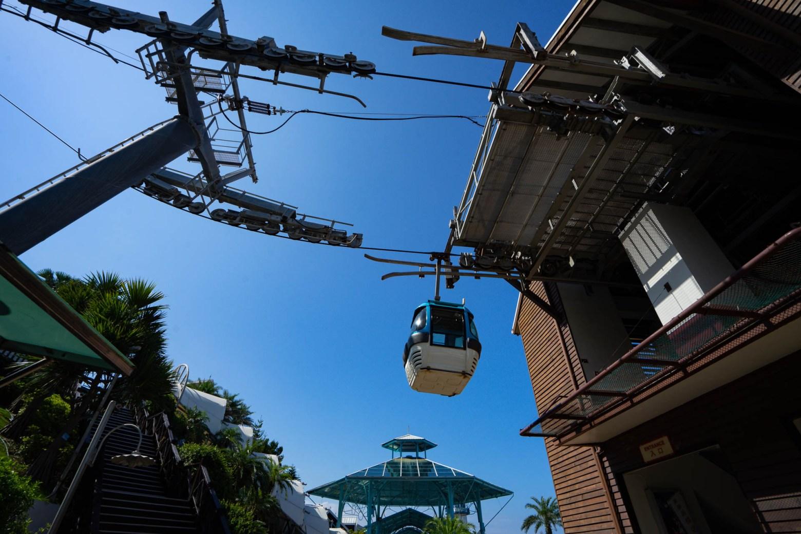 遊園必搭!風景100分的晴空纜車