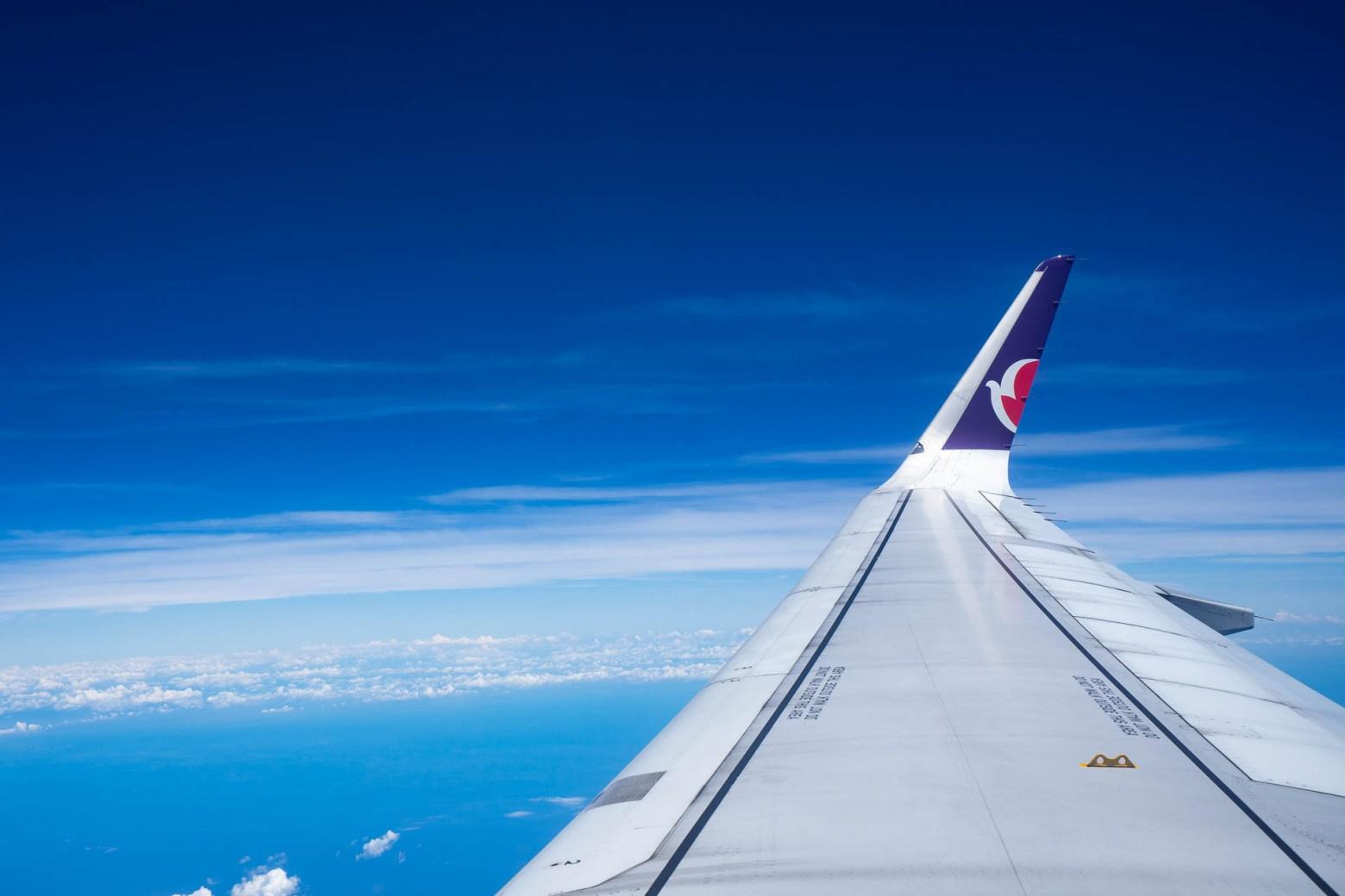 澳門航空-飛機-高空照
