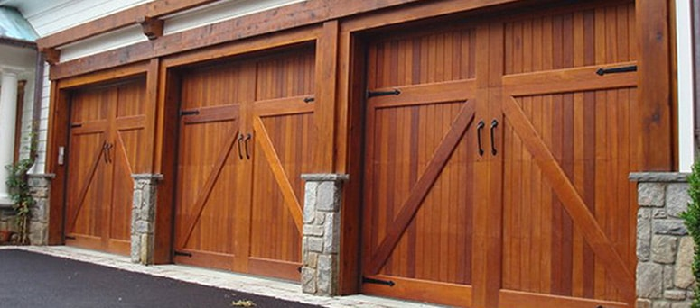 Beauty and quality in Albuquerque only from A1 Garage Door Service & Custom Faux Wood Garage Door in Albuquerque NM | A1 Garage Door Service