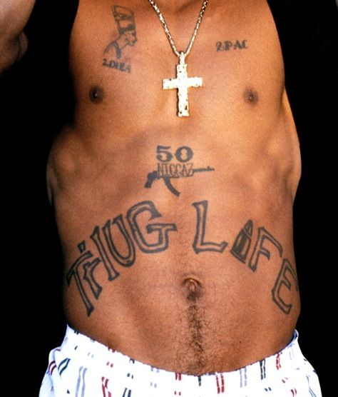 Tupac's Tattoos | What is the meaning of 2Pac's Tattoos