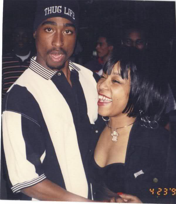Tupac & Monique Angela Hicks At Freaknik, 1993 /Rare Pic