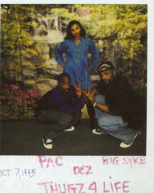 Picture- Big Syke & Desiree Smith (Dez) Visits Tupac In ...