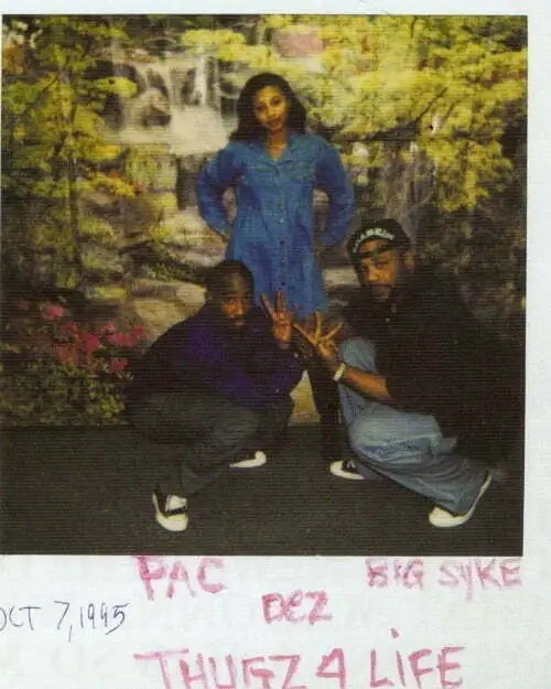 Big Syke & Desiree Smith (Dez) Visits Tupac In The Prison / September 30, 1995