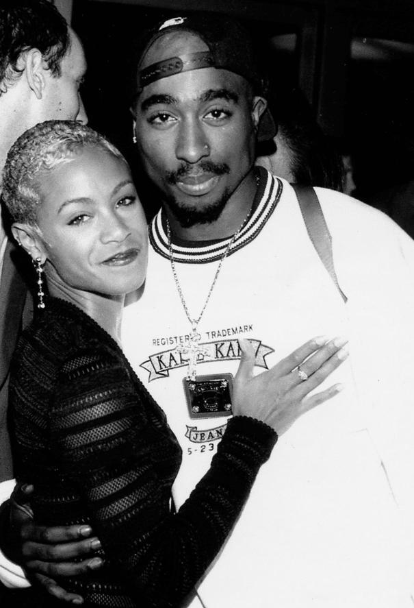 Tupac & Jada Pinkett Smith image