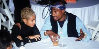 Jada Pinkett Smith & Tupac