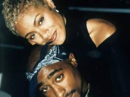 Jada Pinkett Smith & Tupac image