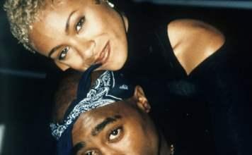 Jada Pinkett Smith & Tupac image