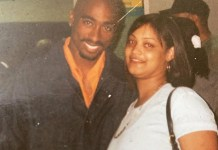 Tupac and Raine Torae (Fan), April 1996, Rare Photo [IG]