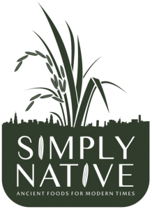 Simply Native: Ancient Foods For Modern Times logo.