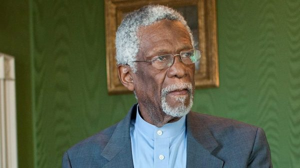 nba legend bill russell 85 brings young wife jeannine to espy awards