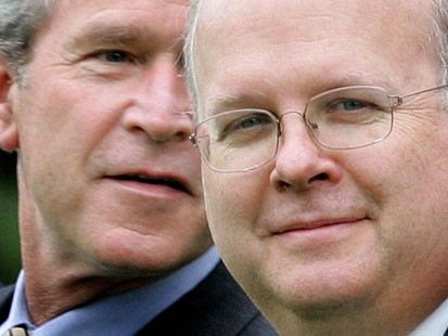 Karl Rove & George Bush
