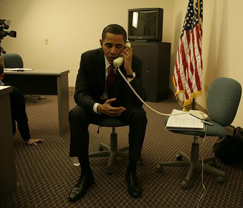 The Truth: Obama and the Not Upside Down Phone