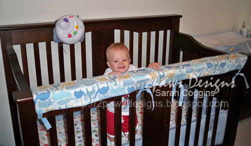 Crib Rail Teether: Completed