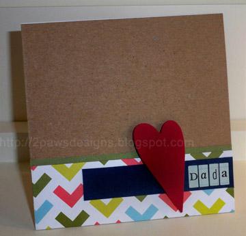 Handprint Pencil Cup & Dada Card