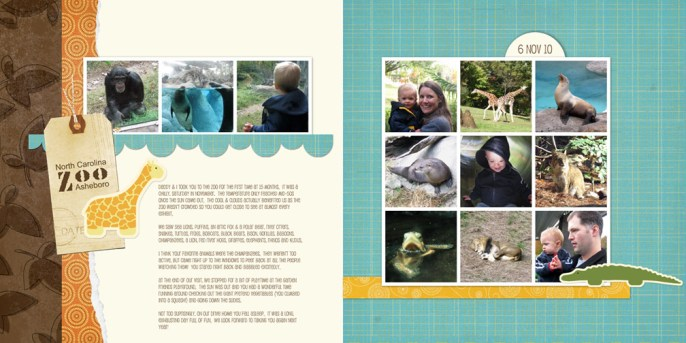 NC Zoo: Dylan's First Visit
