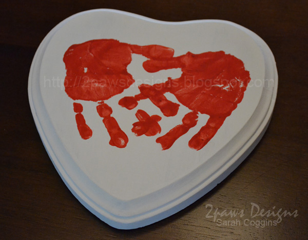Valentine's Day Craft: Handprint Heart