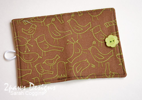 Birdie Tea Wallet: Exterior