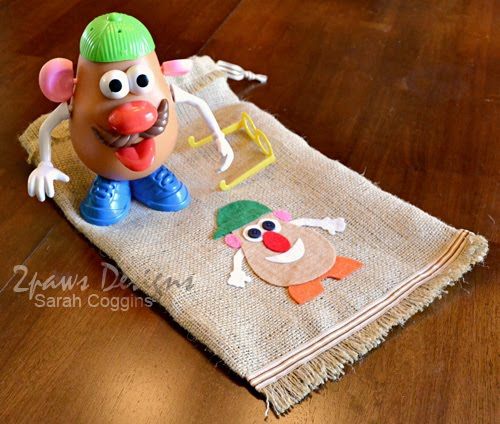 Mr. Potato Head Parts Bag