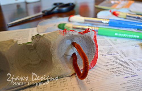 Hungry Caterpillar Craft: Antennae