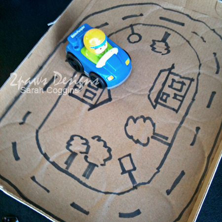 Travel Entertainment for Kids: Car Track