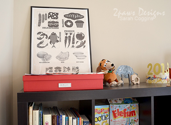 Playroom: Art Storage