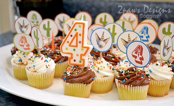 Four-esta Party: Cupcakes