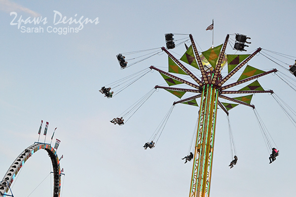 NC State Fair 2013: Midway Rides