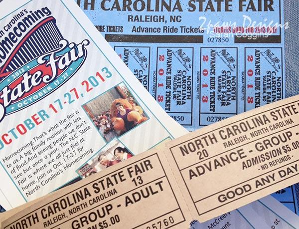 NC State Fair 2013: Tickets