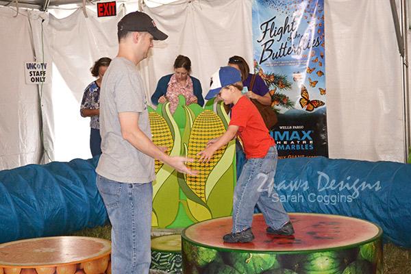 NC State Fair 2013: UNC tv Tent
