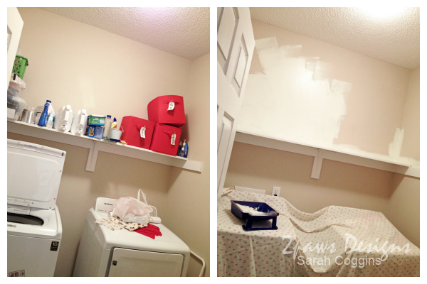 Laundry Room: In Progress